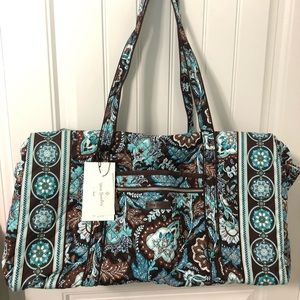 Vera Bradley Iconic large duffle bag travel bag